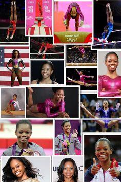 Gabby Douglas. Olympic Badminton, Olympic Games Sports, Olympic Team, Sport Gymnastics, Olympic Gymnastics, Famous Gymnasts, Jordyn Wieber, African American Culture, Nastia Liukin