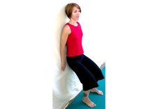 Pelvic Tilts - A Simple Little Exercise That Will Save Your Back: Standing Pelvic Tilts