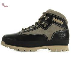 Timberland Euro Hiker Black A15NU, Chaussures randonnée - 45 EU - Chaussures timberland (*Partner-Link)