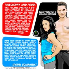 Nutrition & Fitness Tip - Philosophy and Foods & Sports Equipment