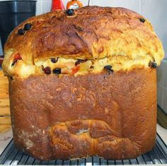Cocinando dulce y salado: Receta de panettone en panificadora Panatone Bread, Panettone Cake, Pan Cookies, Sweet Dough, Sweet Cooking, Decadent Cakes, Peruvian Recipes, Bread Machine Recipes, Crazy Cakes