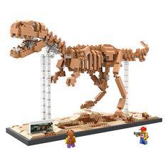 Hot Dino dinosaur fossils Tyrannosaurus Rex skeleton nanoblok LOZ DIY mini diamond building block educational toys for kids-in Blocks from Toys & Hobbies on Aliexpress.com | Alibaba Group