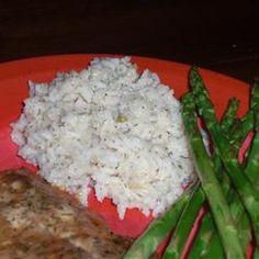 Lemon Dill Rice Recipe