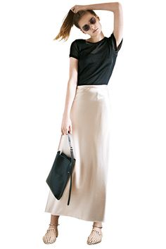 Frock Fashion, Fashion Days, Grey Fashion, Cute Fashion, Skirt Fashion, Daily Fashion, Vintage Fashion, Fashion Outfits, Spring Fashion