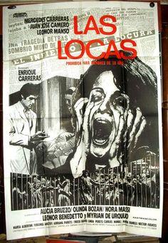 """""""Las locas"""" (1977) Directed by Enrique Carreras Argentina 🇦🇷"""