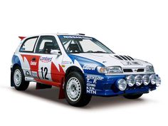 This is the 230PS high-performance GTI-R version of the fourth-generation Pulsar (N14), launched in August 1990. Nissan entered this GTI-R in the 1991 and 1992 World Rally Championship events; its best achievement was to come in 3rd overall. This machine was driven by the S. Blomqvist/B. Malander team in the 1992 RAC Rally, UK.
