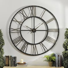 Never wonder the time again! Make a statement with our Addison Open Face Clock. The bronze metal finish with gold accents will add a vintage flare to your decor. Functional and fashionable, this clock is perfect for any room.