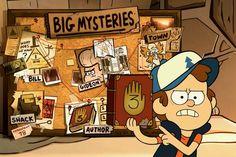 Énigmes, messages secrets et références occultes, le dessin animé Souvenirs de Gravity Falls est parsemé de mystères dès le générique. Pourtant, elle est diffusée sur la même chaine que Violetta et enchaîne gag sur gag.
