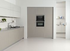 Resultado de imagen de muebles cocina gris claro