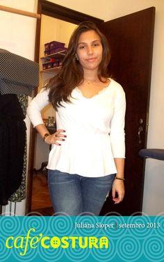Última peça da Juliana, que agora já está em Londres para estudar moda! Vai voltar incrível!!!