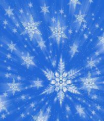 Featured Art - Snowflakes by Mehau Kulyk