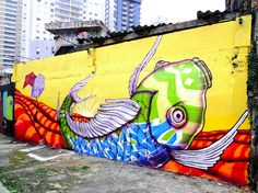 Top 5 Graffiti Artists of Brazil - Oasis Collections