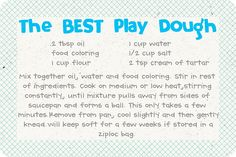 The BEST Homemade Play Dough Recipe {Picture Tutorial} | Fabulessly Frugal: A Coupon Blog sharing Amazon Deals, Printable Coupons, DIY, How to Extreme Coupon, and Make Ahead Meals