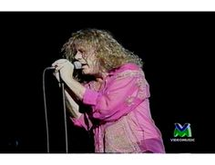 Robert Plant live in Pistoia, Italy 1993 (Fate of Nations tour)