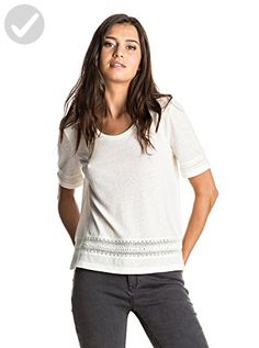 Roxy Women's Tables Turns Knit Top, Marshmallow, XS - All about women (*Amazon Partner-Link)