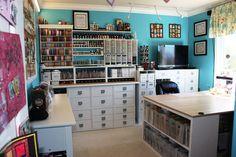 #papercraft #craft room #organization
