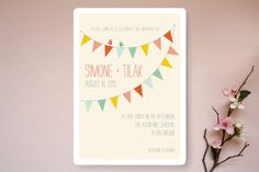 Barn Party! Wedding Invitations by Meg + Emmy at minted.com