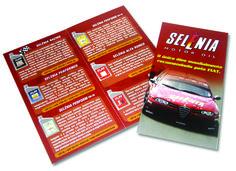 Folder Selénia Motor Oil - FL Brasil