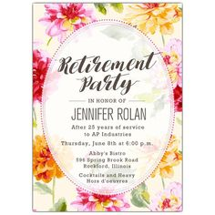 We offer custom invitations and stationery from top designers, fast service and a Satisfaction Guarantee. Surprise Birthday Invitations, Retirement Invitation Template, Retirement Party Invitations, Printable Birthday Invitations, Retirement Parties, Custom Invitations, First Birthday Parties, First Birthdays, Invitation Ideas