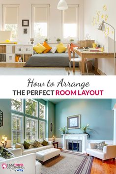 Discover the art of designing your dream room with endless inspiration from EasyHomeDecorating™. Thousands of ideas from all your favorite brands. Office, My New Room, Home Staging, Apartment Living, Land Scape, Living Spaces, Living Room, Home Projects, Home And Living