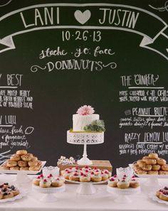 Chic wedding cake idea; Featured Photographer: This Modern Romance
