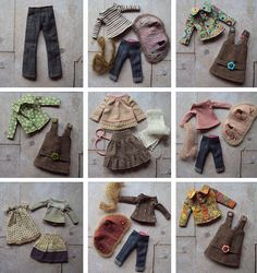 Some of this weeks sewing by little_moshi, via Flickr