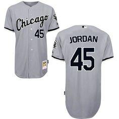 35eb45e9d02 Chicago White Sox Michael Jordan  45 Alternate Home Jersey