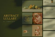 Ad: Lullaby UI Kit Photography Portfolio by Luna Studio on The Abstract Lullaby UI Kit was carefully created for a photography portfolio website or a web design folio. These ready to use page Photography Portfolio Website, Portfolio Site, Portfolio Design, Blog Design, Web Design Inspiration, Create Drawing, Website Layout, Ui Kit, Blogger Templates