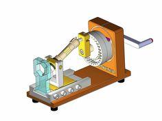 MECHANIZMUS - HEXAGON AM - STEP / IGES, SOLIDWORKS - 3D CAD model - GrabCAD