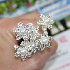 6Pcs-New-Wedding-Bridal-Crystal-Pearl-Flower-Hair-Pins-Hair-Clips-Accessory