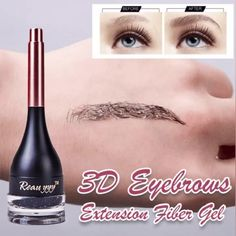 Eyebrows Liquid Extension Fiber Gel Super Natural 1 GET 1 GET Get Eyebrows Fiber have the day under ALL conditions! This creates defines and lengthens brows. You can easily control the shape and thickness of eyebrowsusing a high-end soft brush Eyeliner, Eyebrow Makeup, Body Makeup, 80s Makeup, Witch Makeup, Scary Makeup, Eyebrow Pencil, Halloween Makeup, Mascara