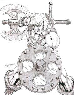 He-Man by -vassago-