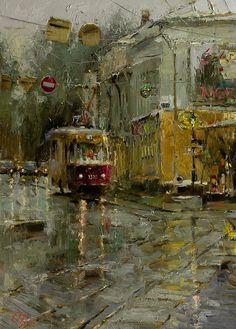 Oleg Trofimov - Tram, oil