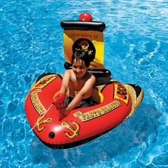 #Pirate pool floatie - Perfect for summer events!