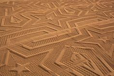 A Sign in Space: Sandprint at Laga beach, Sense & Sustainability, Art biennale, Urdaibai, Spain