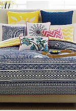 Lattice Reversible Queen Comforter Set 92-in. x 96-in.