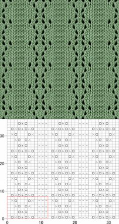 Knitting - Openwork patterns knitting needles - 47 schemes (from the Asian site)