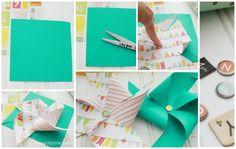 How to make pretty pinwheels