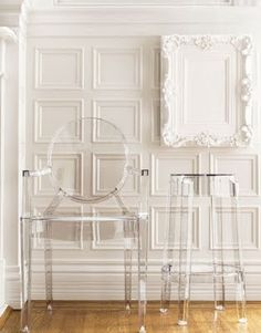 Louis Ghost Chair by Phillipe Starck for Kartell