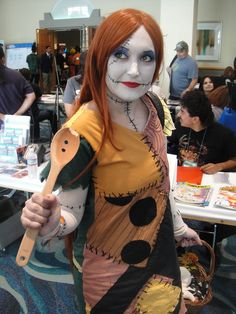 How to Make a Sally Costume from the Nightmare Before Christmas -- via wikiHow.com