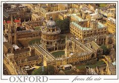 BR89606 oxford from the air bodleian library uk | eBay