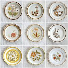 Service a vintage salad design 70 deco vintage kitchen made in Japan