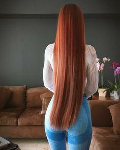 Long Hair Trim, Long Red Hair, Super Long Hair, Beautiful Red Hair, Beautiful Redhead, Looks Pinterest, Blonde Hair, Cool Hairstyles, Hair Beauty