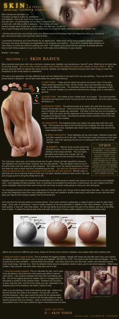 SKIN: a tutorial - Part 1 by *navate  Resources & Stock Images / Tutorials / Digital Art / Drawing & Painting / Photoshop  *One of The Best Skin Tutorials Ever XD-For Digital,but Traditional Artists will Also find it very Useful-an astounding amount of artistic information!*  This tutorial is very extensive and will be published in (at least) four parts. *click Download* **PART_ONE**