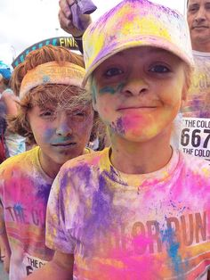 Tips for your first Color Run! Via crazybananas
