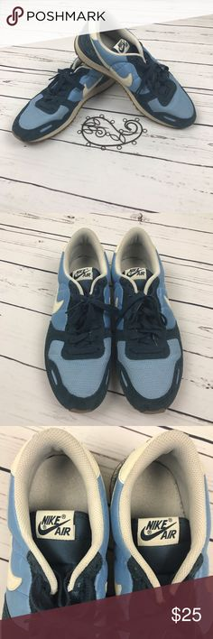 Nike Blue Men's Track Tennis Shoe size 11 Nike Men's tennis track shoe size 11. Worn in good used condition. Some wear on the suede part of the shoe. Tons of life left for sure! Nike Shoes Sneakers
