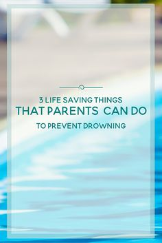 Did you know that drowning is the cause of injury related death in children under the age of Here are 3 life saving things that parents can do to prevent drowning. Activities For Autistic Children, Autism Activities, Kids And Parenting, Parenting Hacks, Parenting Classes, Teach Kids To Swim, Swimming Benefits, Water Safety, Positive Discipline