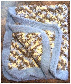 Crochet Baby Boy Blanket