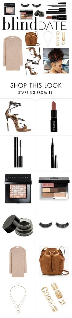 """""""Untitled #96"""" by marc-anthony ❤ liked on Polyvore featuring Dsquared2, Smashbox, Chanel, Marc Jacobs, Bobbi Brown Cosmetics, Marni, J.Crew, Sole Society and Forever 21"""