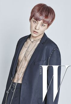 EXO Xiumin - W Korea Magazine July Issue '16